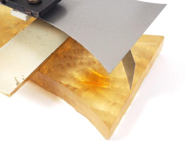 applique murale verre taillé bronze lucinevintage