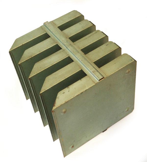 classeur documents papier industriel lucinevintage