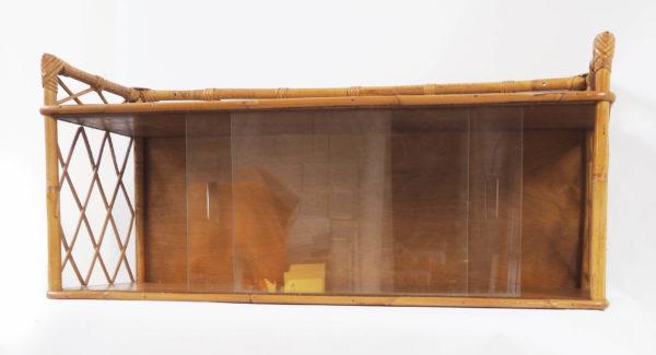 etagere vitree rotin lucinevintage