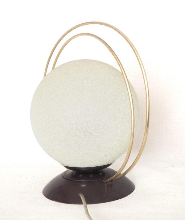 lampe anneaux laiton vintage