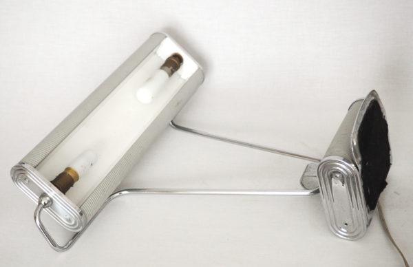 lampe Eileen Gray artdeco grise