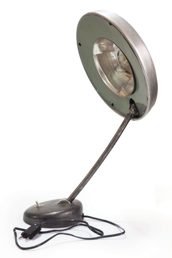 lampe d'atelier retro aluminium