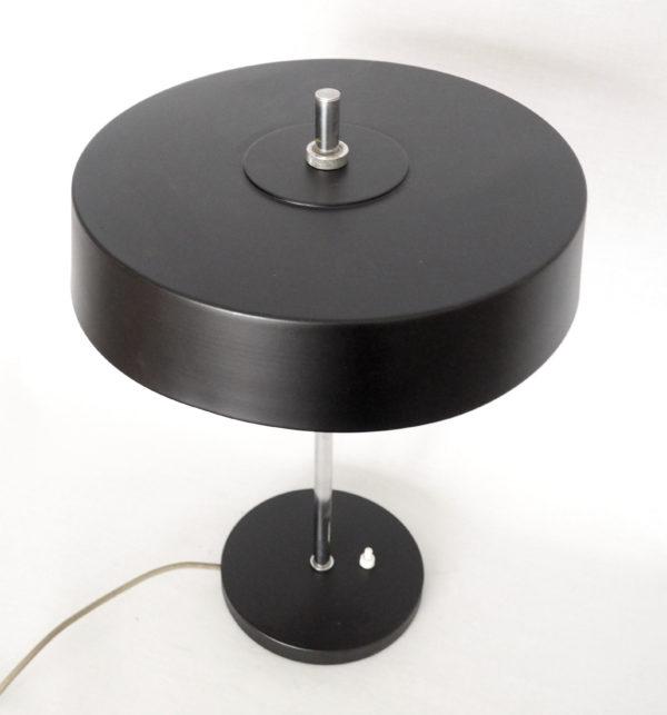 lampe bureau Philips noire vintage