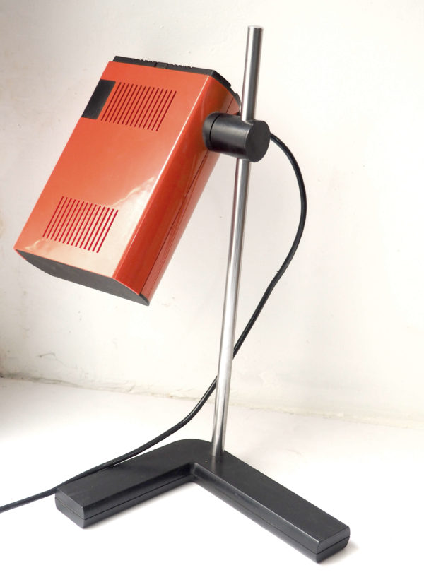lampe talopp rouge vintage