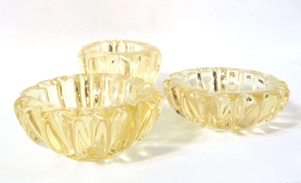 cristal d aven jaune art deco lucinevintage