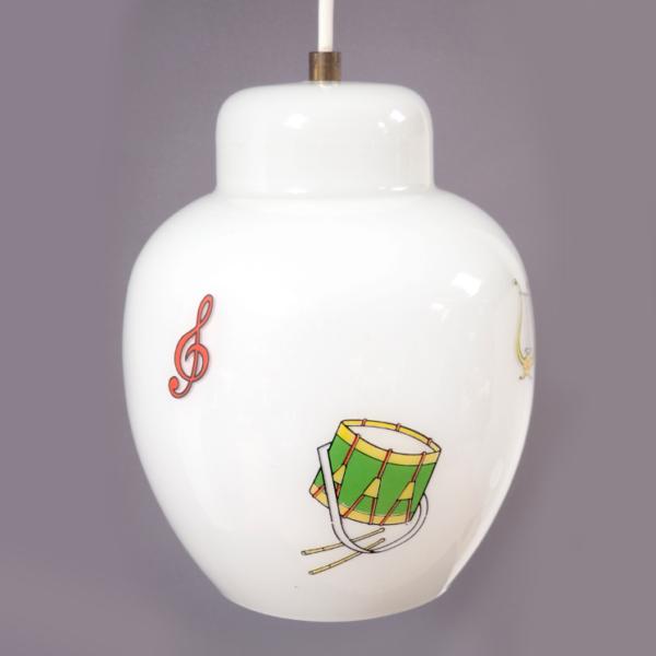 suspensions instruments de musique vintage