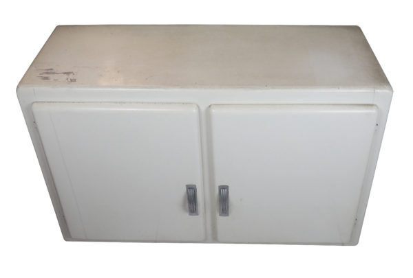 rangement mural cuisine blanc lucinevintage