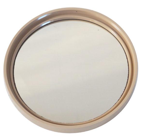 miroir seventies beige lucinevintage