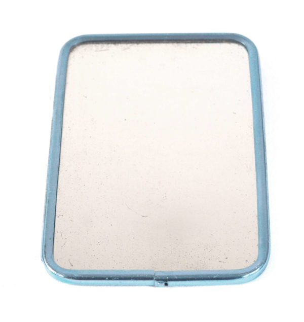 miroir barbier chrome bleu lucinevintage
