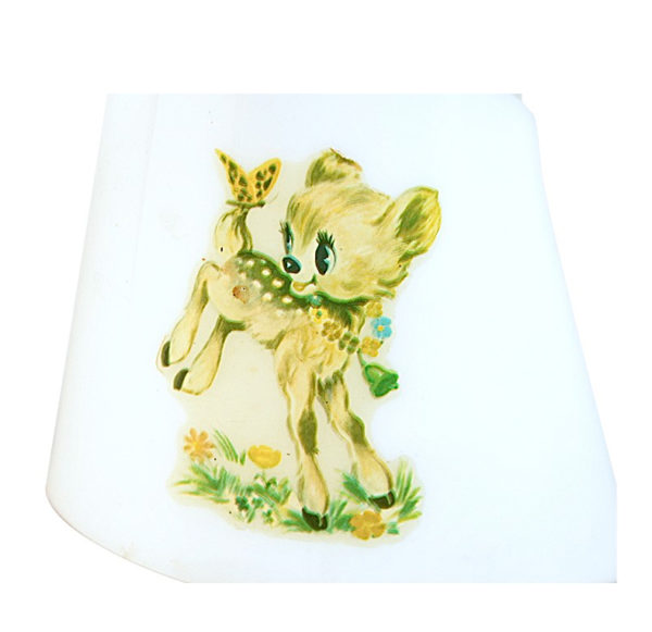 petite lampe plexi Bambi vintage