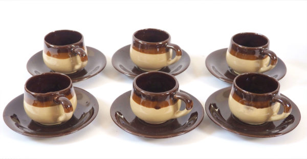 ensemble cafe chocolat lucinevintage