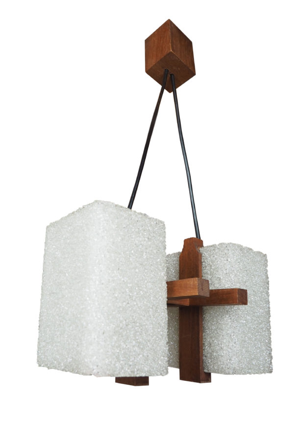 lustre teck resine scandinave lucinevintage