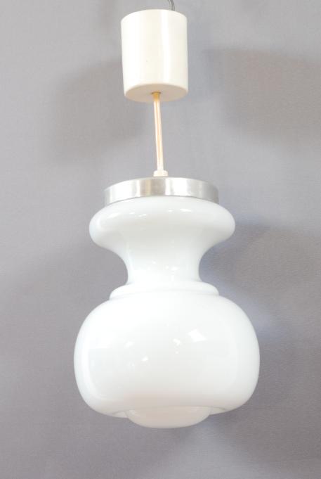 lustre opaline blanc lucinevintage