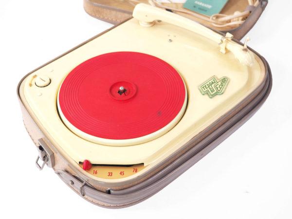tourne disque teppaz 1962 vintage