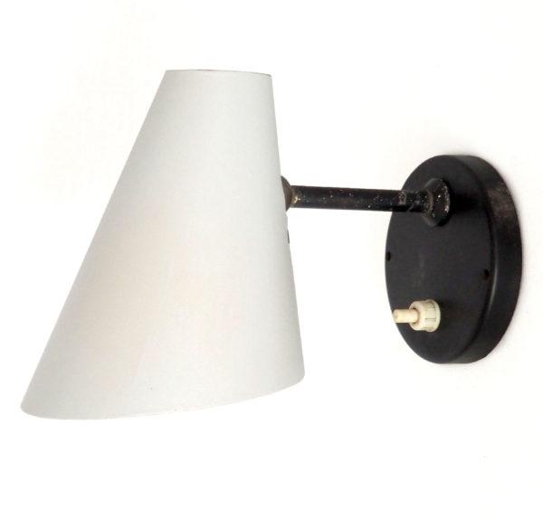 applique cornet gris noir 1950 lucinevintage