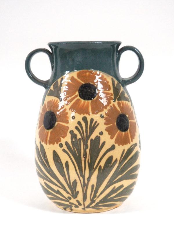 vase poignées 3 fleurs elchinger