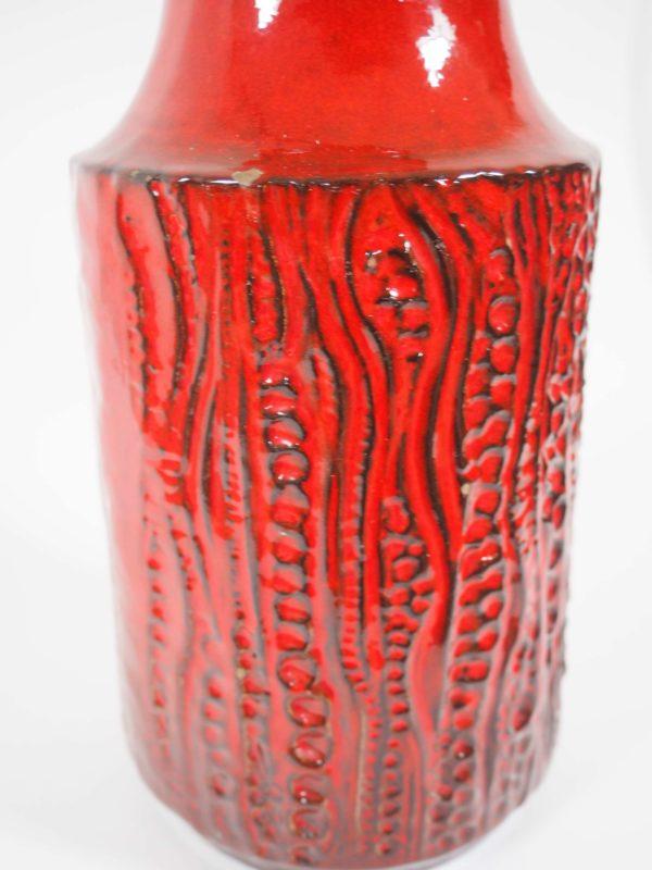 céramique Allemagne années 60 rouge