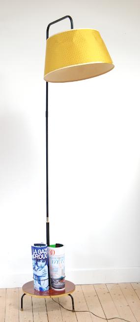 lampadaire formica bar années 60