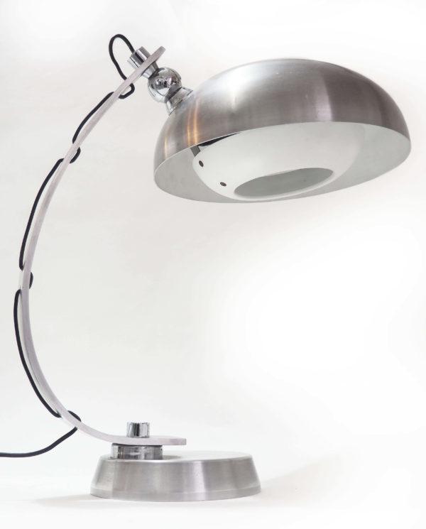 grande lampe aluminium lucinevintage