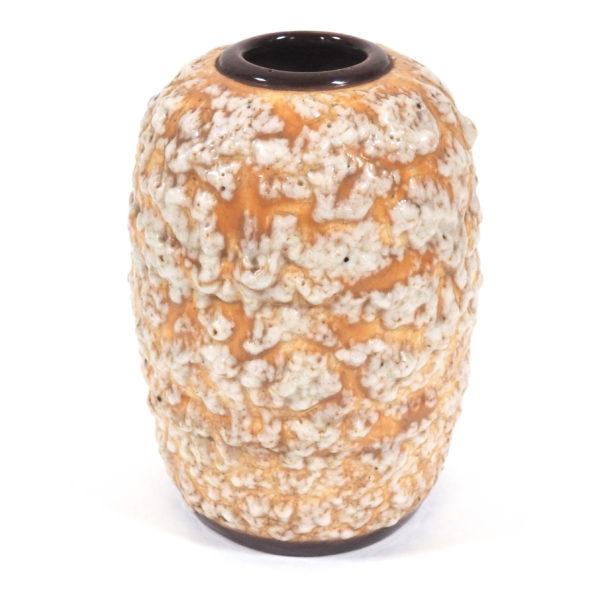 vase lave mousse ocre lucinevintage