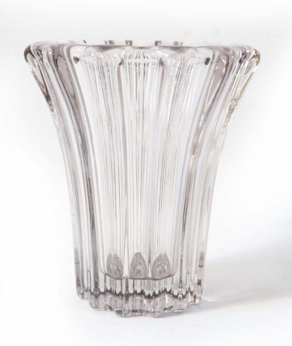 vase gris cristal d'Avesn lucinevintage