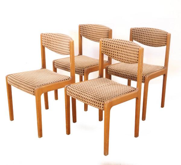 chaise-traineau-annees80-velours-