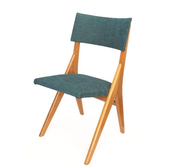 chaise-pieds-compas-vert-annees60-1