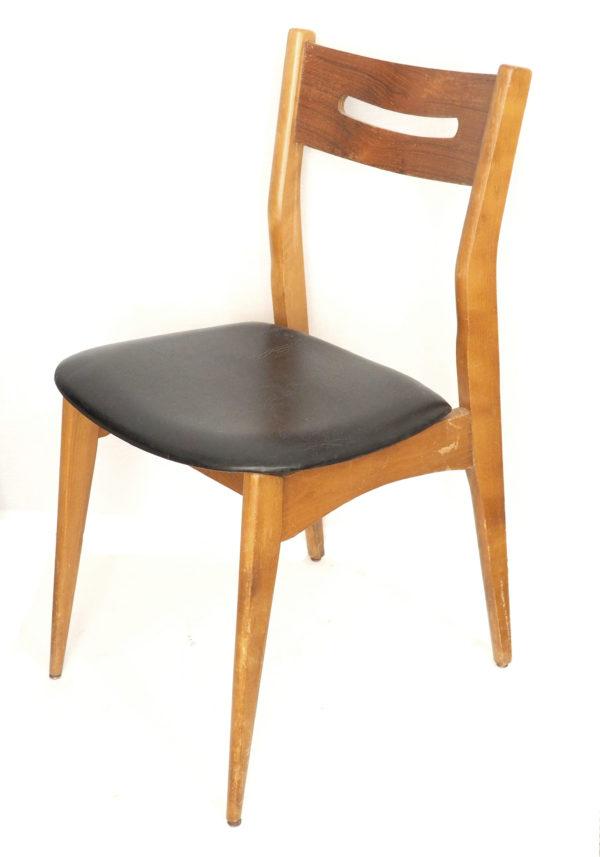 chaise-bois-skai-noir-annees60-2