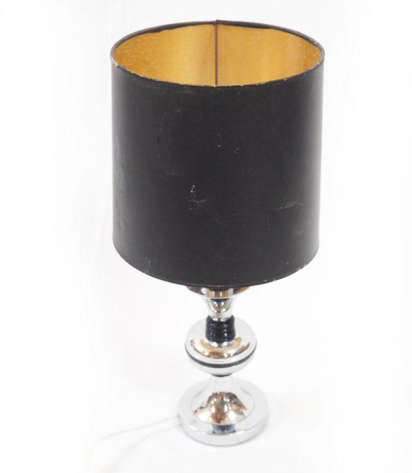 lampe-pied-chrome-noir-annees70-4
