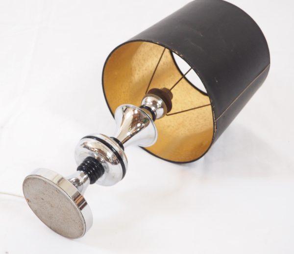 lampe-pied-chrome-noir-annees70-6