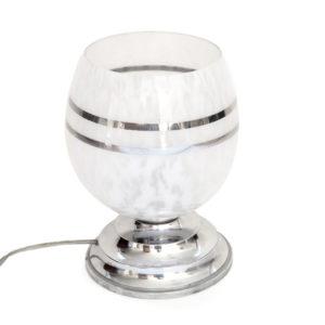 Lampe art déco verrerie ancienne 1
